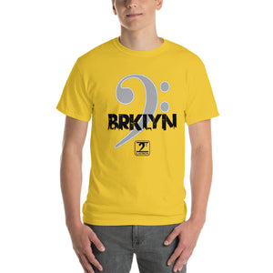 BROOKLYN CLEF Short-Sleeve T-Shirt - Lathon Bass Wear