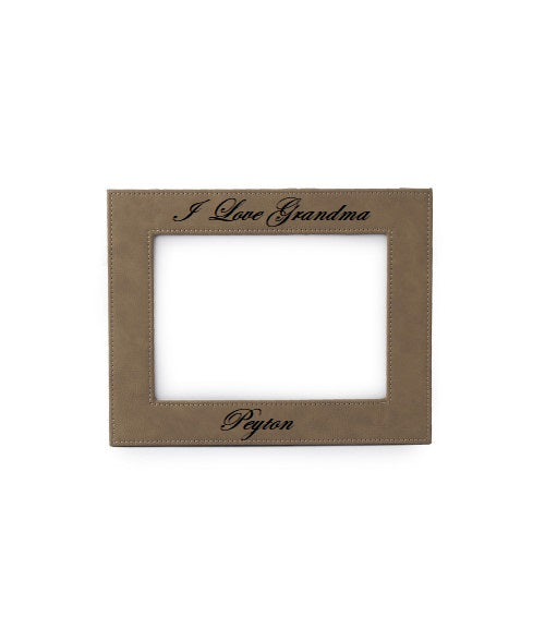 I Love Grandma Personalized Picture Frame