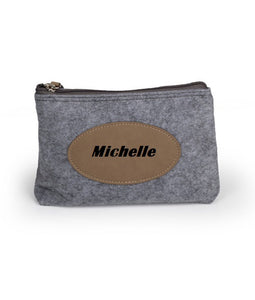 Personalized Flannel Travel Bag