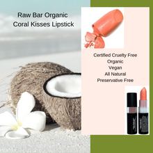 Load image into Gallery viewer, Lipstick Organic and Natural  Vegan, Gluten Free, Cruelty Free