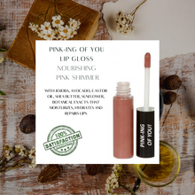 Load image into Gallery viewer, Organic Lip Gloss, All natural, Gluten Free, Vegan, Cruelty Free