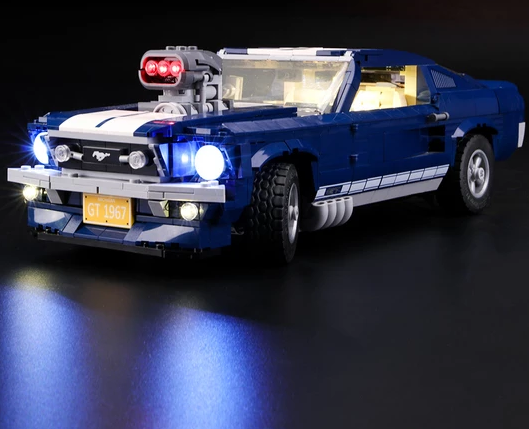 Lego light kit for ford mustang car
