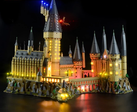 Lego light kit for harry potter castle set