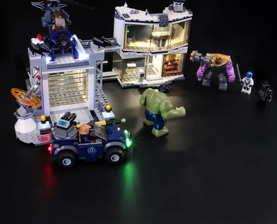 light kit for lego avengers end game series