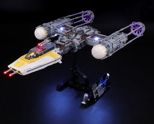 light kit for the y-wing star-figure