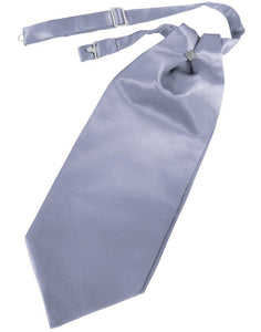 Periwinkle Solid Satin Kids Cravat