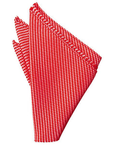 Red Venetian Pocket Square