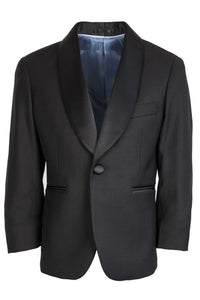 """Seville"" Kids Black Tuxedo Jacket (Separates)"