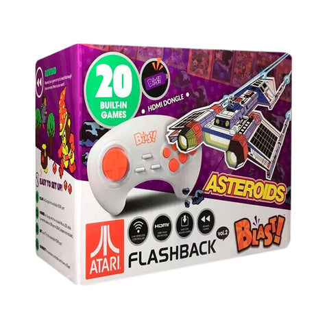 Atari Vol. 2 Flashback Blast - Mini Consola Portatil 20 Juegos