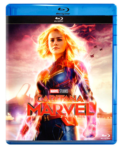 Capitana Marvel Blu-ray