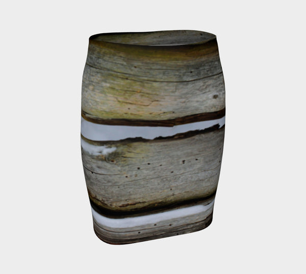 Driftwood fitted skirt