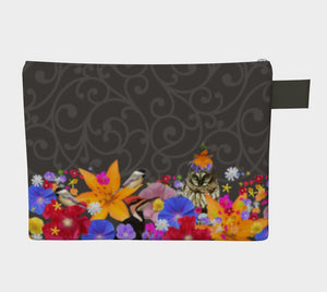 Charcoal Scroll Doo-Dah bag! SALE! Thru July 18 only $28.00! Free Shipping as always!