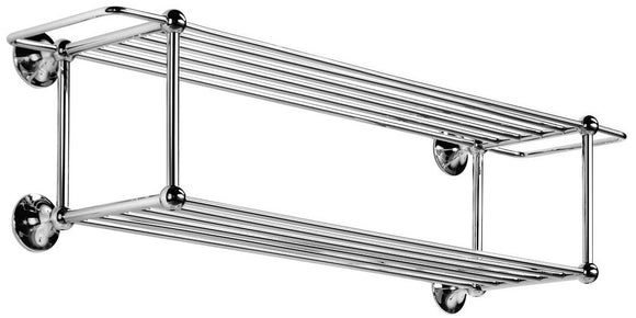 WS Bath Collections Venessia Collection Double Towel Rack, 29.9
