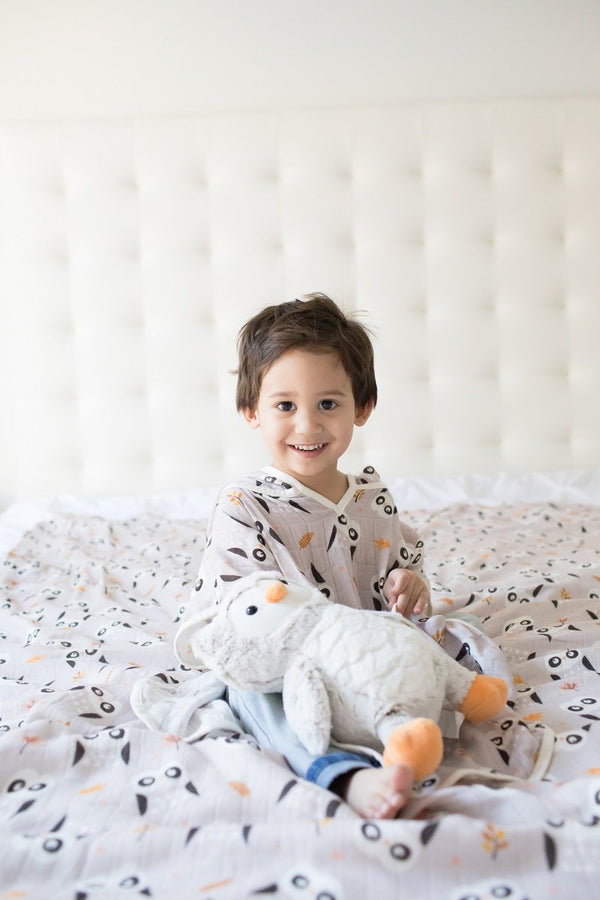Owl We Need - Tula Cover-Up - Baby Tula