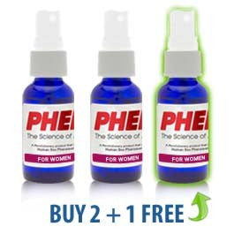 PherX for Women (Attract Men) 3-Pack