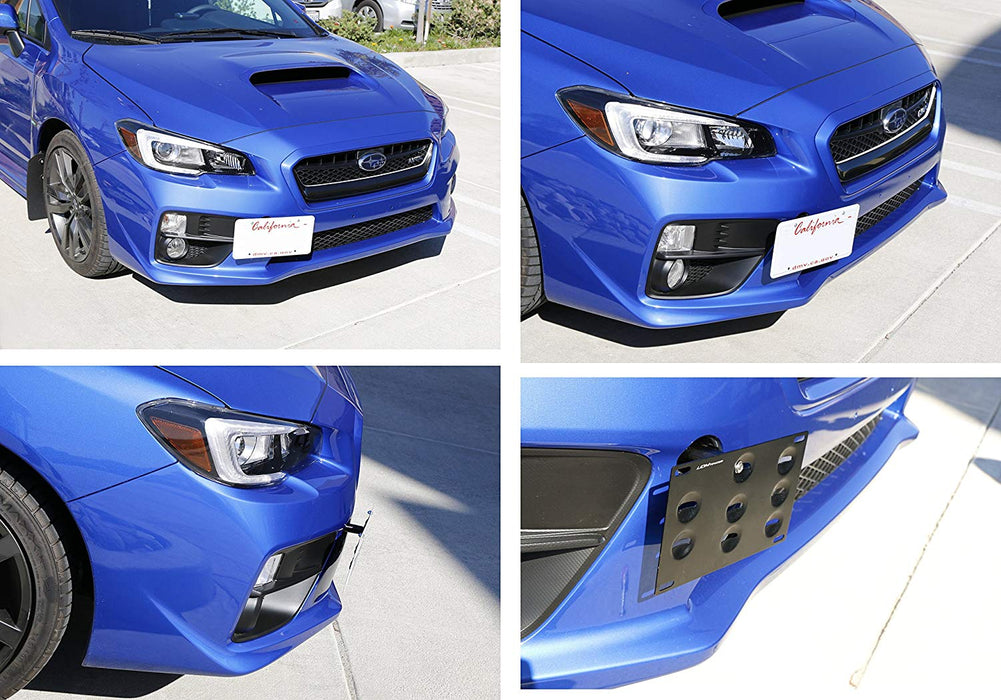 Scion Frs Subaru Brz Tow Hook Front License Mounting