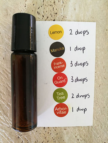 immune boosting essential oil blend