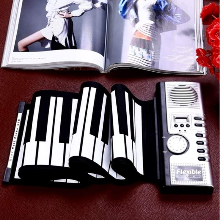 Portable Flexible Electronic Piano - Trend Deals