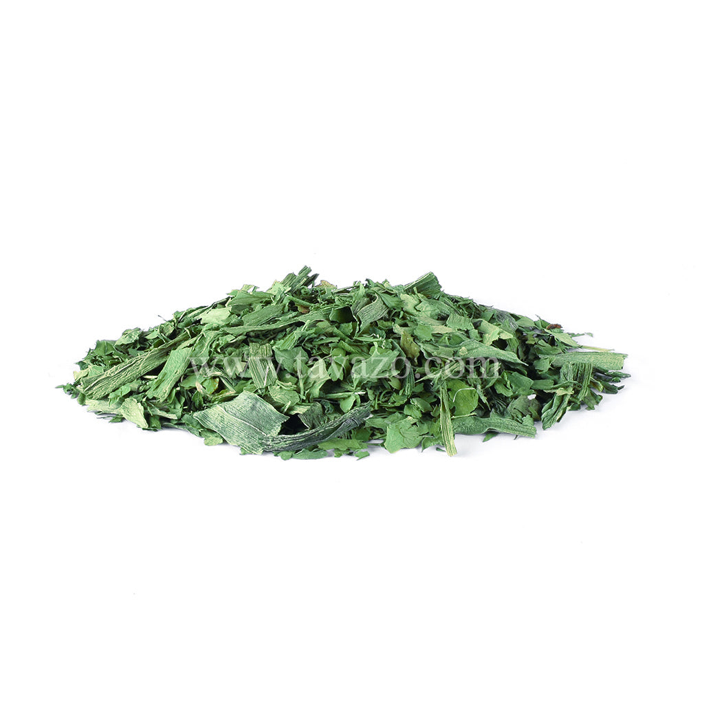 Sabzi polo dried vegetable. Mix of dried dill, leek, parsley and fenugeek