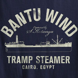 I'm On A Boat: The Bantu Wind Tramp Steamer Tee