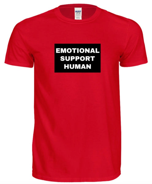 "Thick Skin with Jeff Ross ""Emotional Support Human"" Unisex T-Shirt"