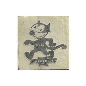 Felix Chevrolet Decal Sticker (4.5 X 5 Inches)