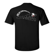 Load image into Gallery viewer, Felix Chevrolet Cat Metamorphosis Youth T-Shirt