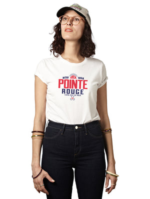 T-shirt Miss Web POINTE ROUGE