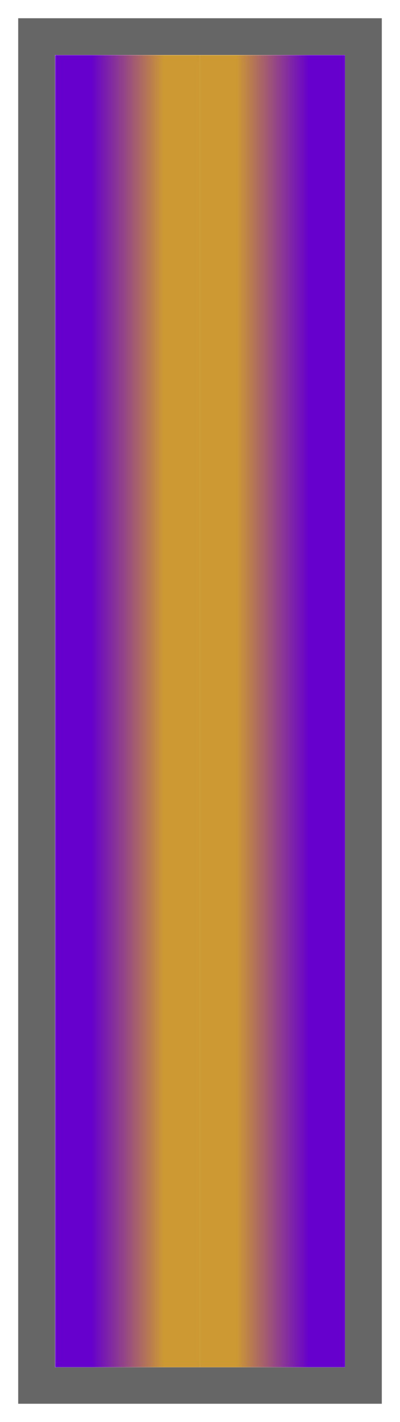 Purple-Gold-Purple Ombre Stripe