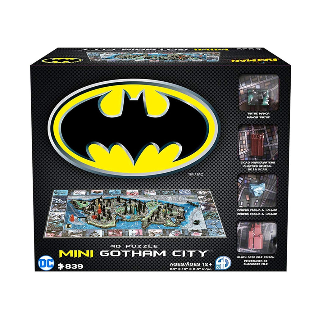 DC Batman Mini Gotham City 4D Puzzle