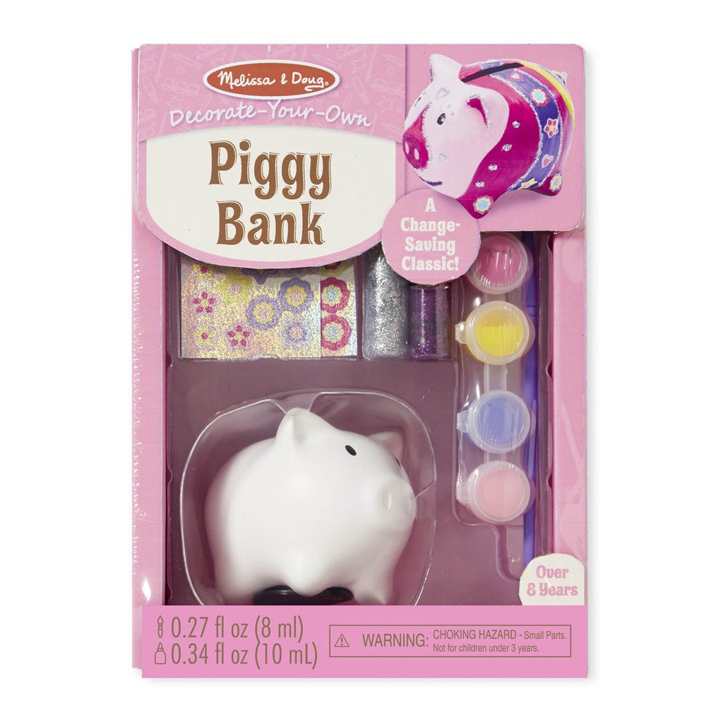Crafts - Melissa And Doug Created By Me Piggy Bank Craft Set