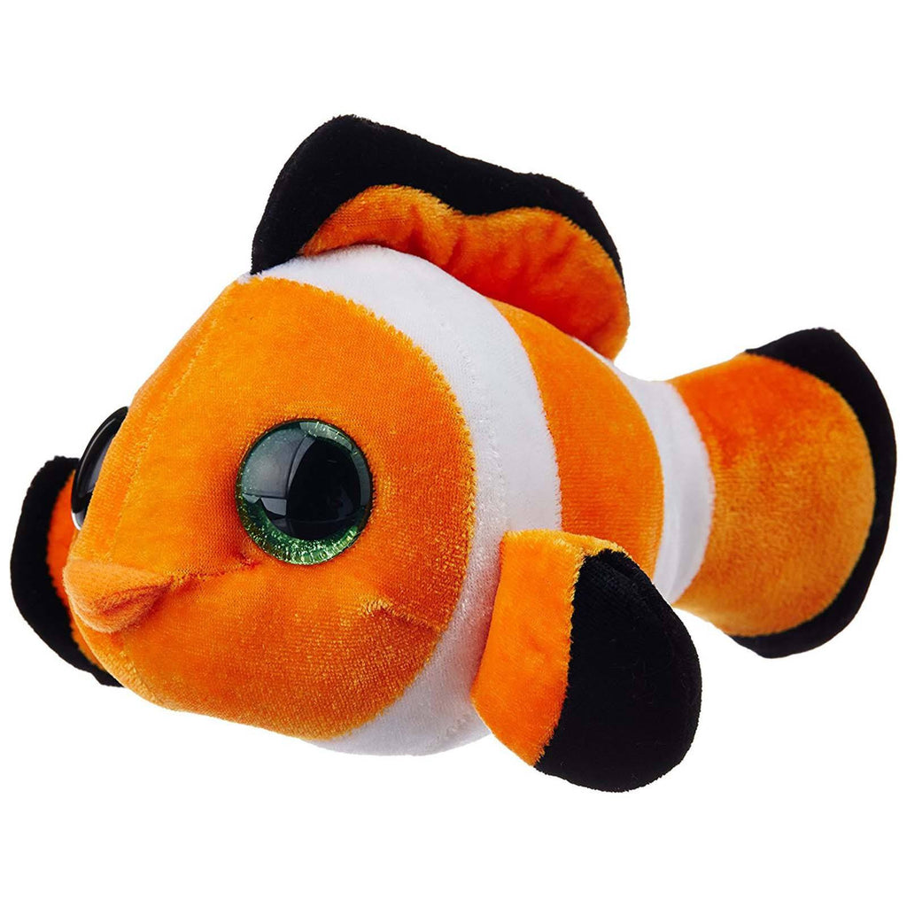 Animal Plush Toys - Li'l Sweet And Sassy Clownfish Tangerine 5 Inch Animal Plush Figure