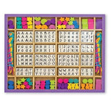 Crafts - Melissa And Doug Wooden Stringing Beads Craft Set