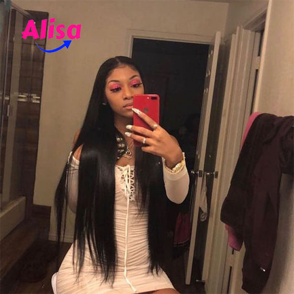 Full Lace Wigs Straight Wigs Pre Plucked Natural Hairline