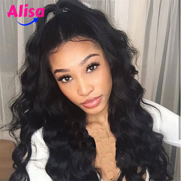 Full Lace Wigs Body Wave Wigs Bleached Knots