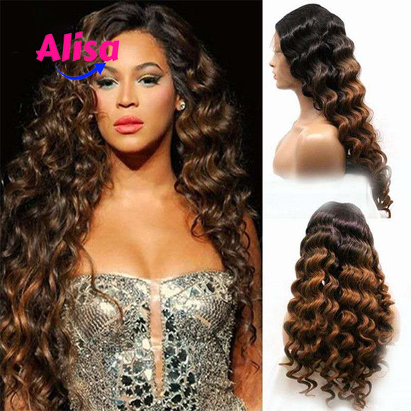 Ombre 1b/30 Loose Wave 13x6 Lace Frontal Wigs