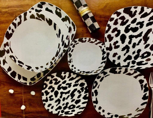 26-Piece Porcelain Dinnerware Set, Dinner plates, Soup plates, Salad bowls, dessert plates and oval plate exxab.com