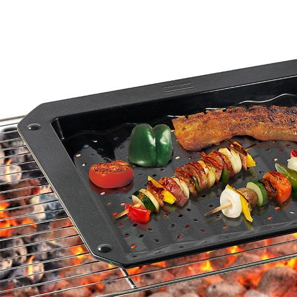 Zenker 7206 dish grill and non-stick oven baking tray enamel pan - exxab.com