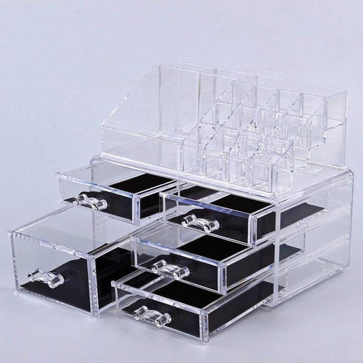 Makeup organizer with 5 drawer and 16 grid makeup exxab.com