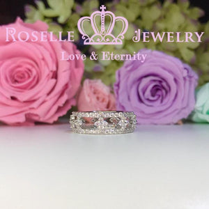 Floral Fashion Ring - BA21