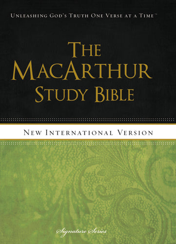 NIV, The MacArthur Study Bible, Hardcover: Holy Bible, New International Version by John F. MacArthur