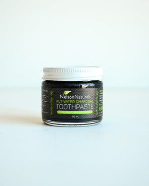 Nelson Naturals Toothpaste - Activated Charcoal Whitening Treatment