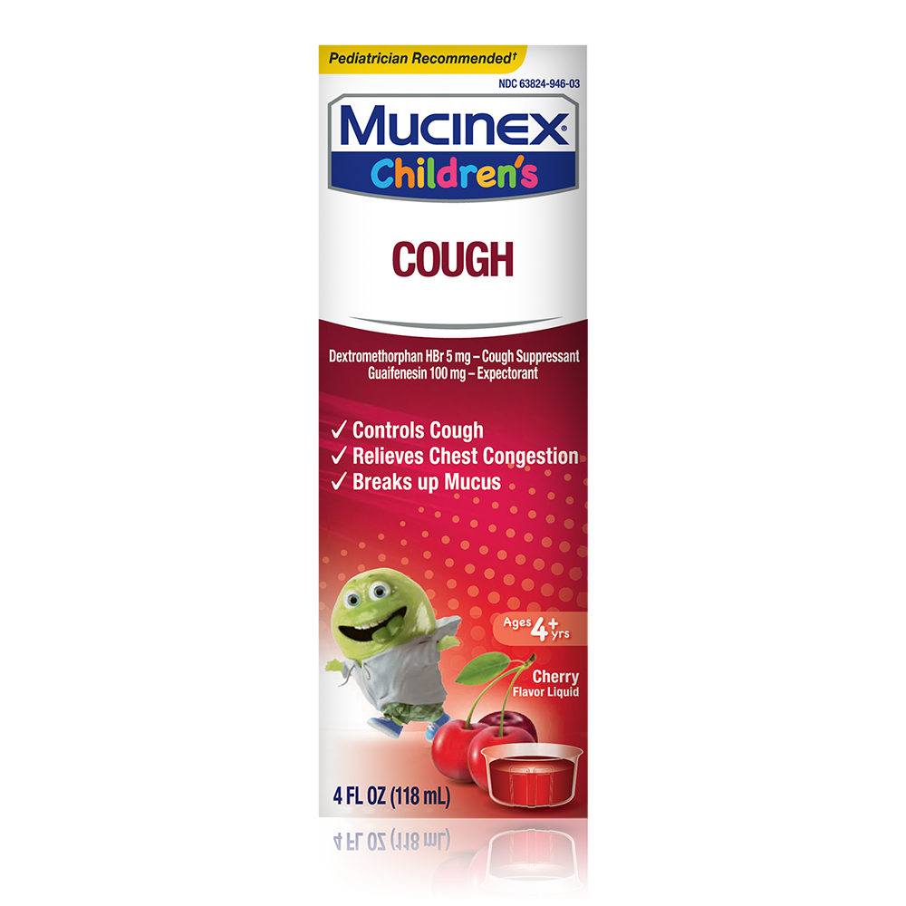 Mucinex Children's Cough Expectorant - Cherry 4 oz (Packaging May Vary)