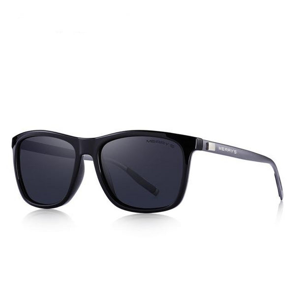 Square Polarized Sunglasses For Men - 6 Colors
