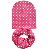 Baby Hat Infant Caps Cotton Scarf Baby Beanies Love Heart Print Spring Autumn Children Hat