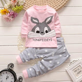 Winter Newborn baby clothes set cotton Baby girls Clothes