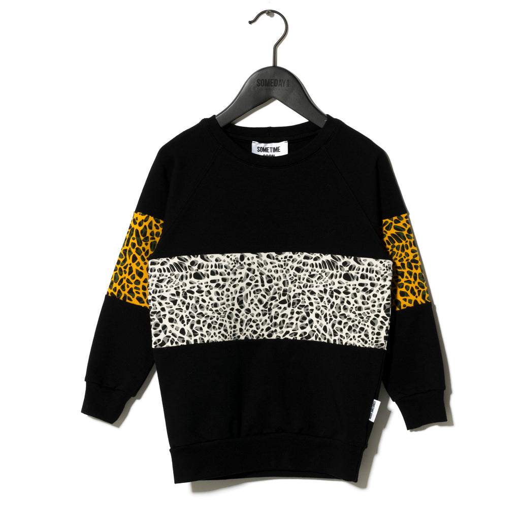 Sometime Soon Black Delano Sweat