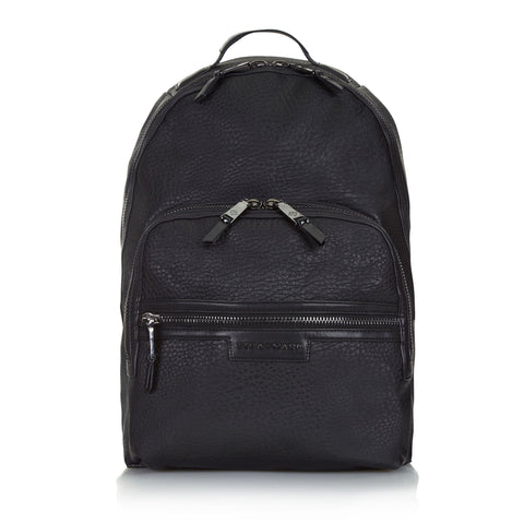 Tiba + Marl 'Elwood' Black Backpack