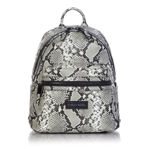 Tiba + Marl 'Miller' Grey Snake Backpack