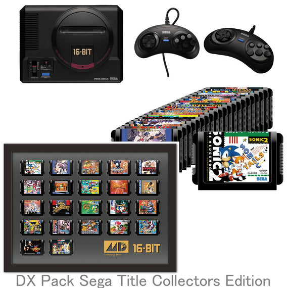 "Sega Genesis Mega Drive mini DX Pack ""Title Collectors Edition"" (PRE-ORDER Sep. 19)"